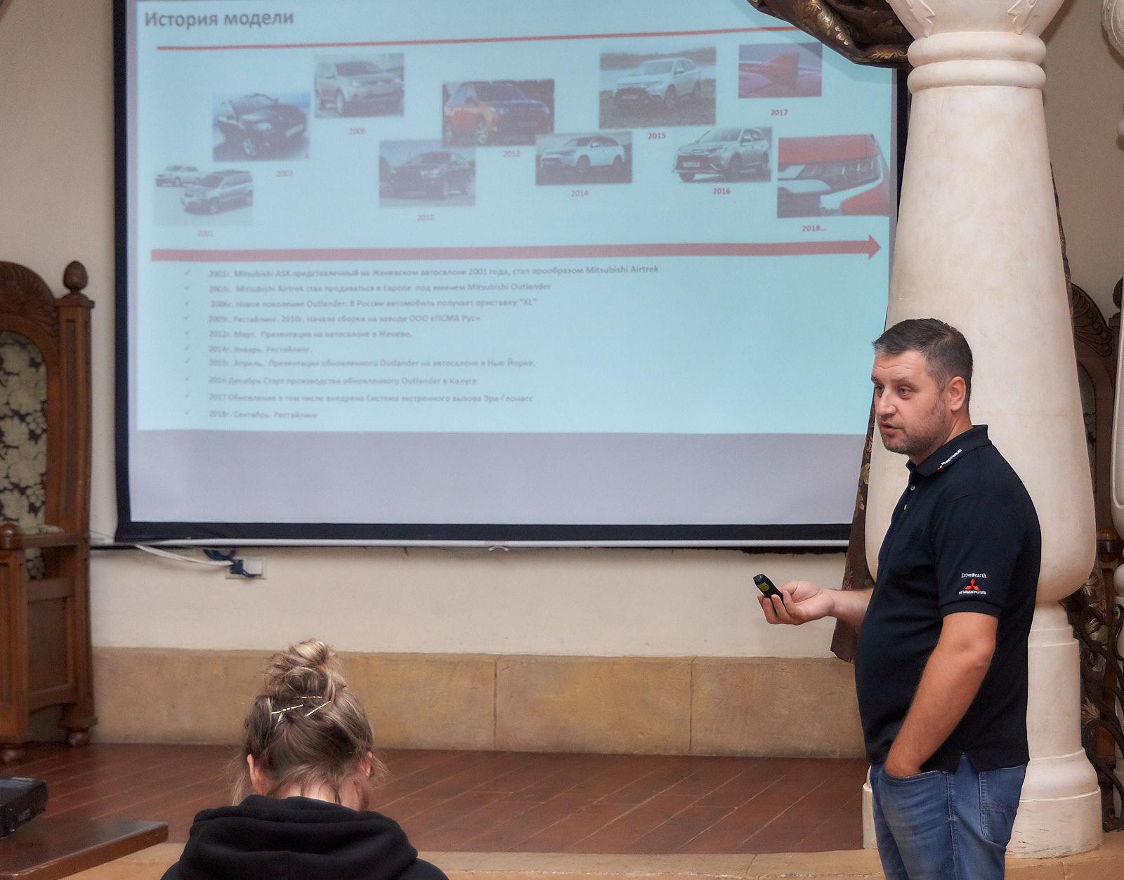 Тест-драйв Mitsubishi Outlander Рязань август 2019 Илья Никоноров