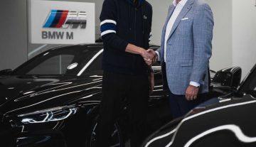 BMW Group Россия будет сотрудничать с Даниилом Медведевым