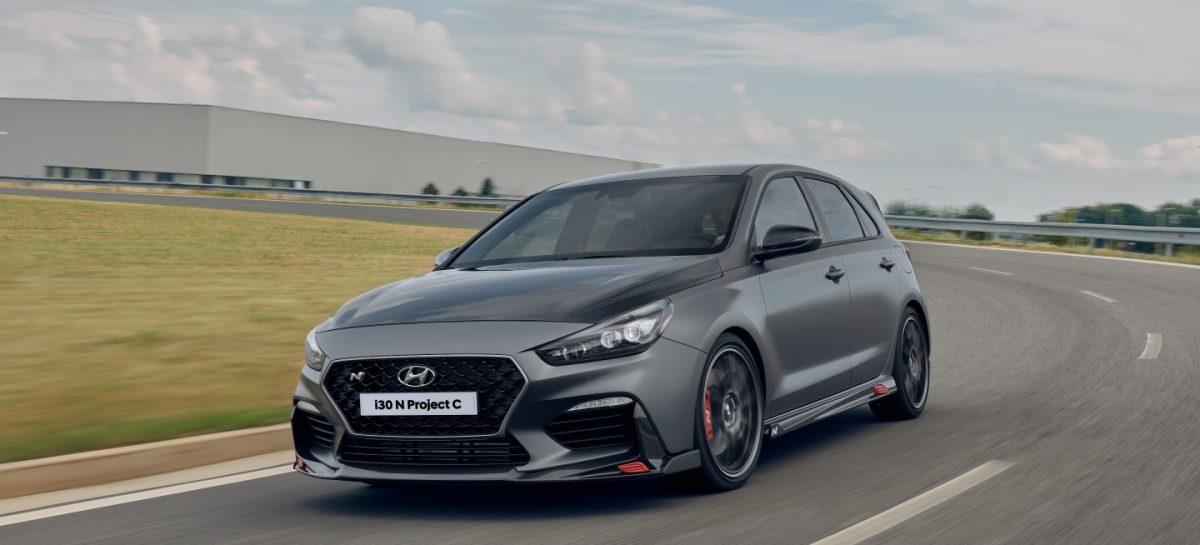 Hyundai показал новую версию i30 N Project C