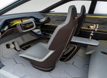 Салон-шедевр от мебельного бренда для нового INFINITI QX Inspiration