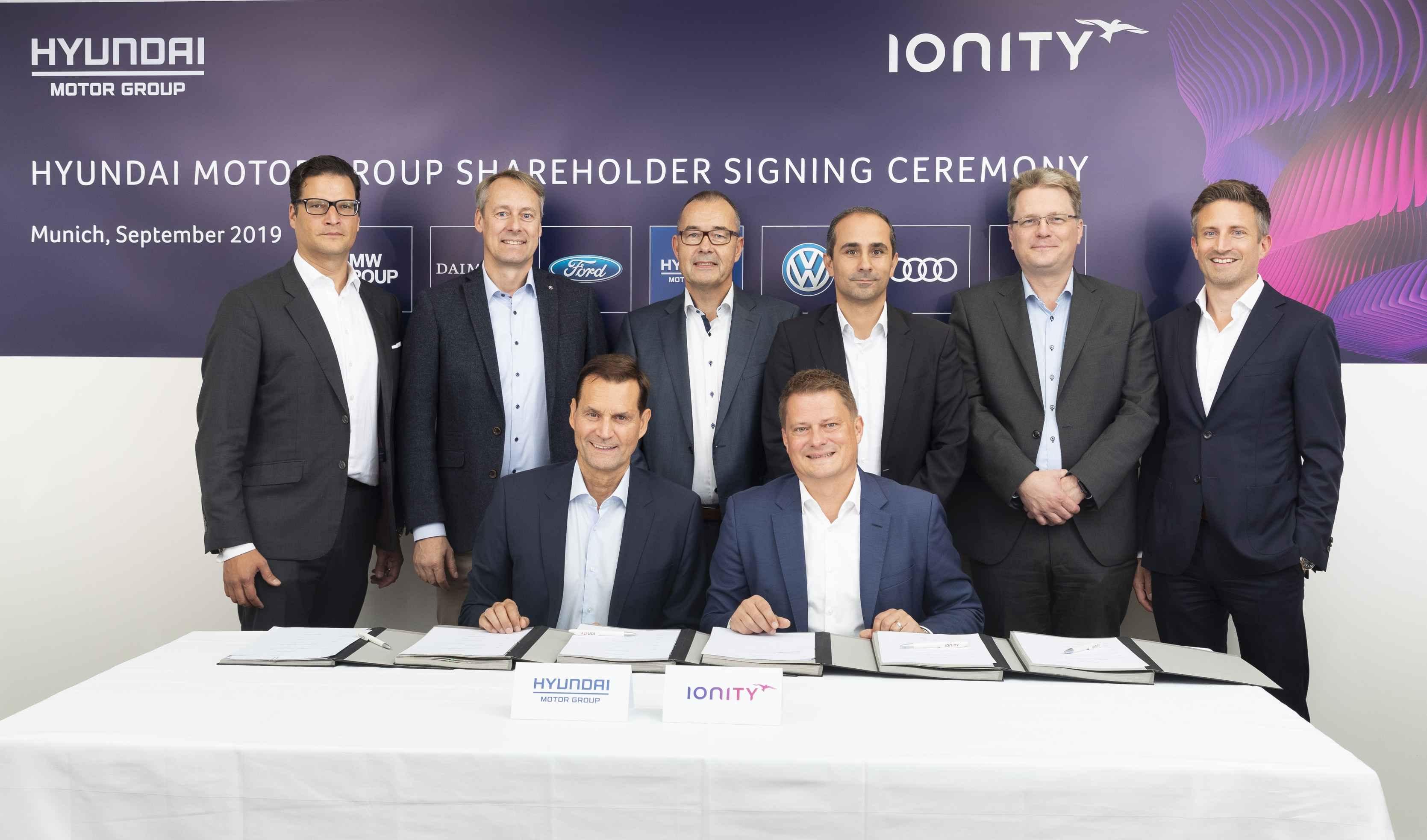 Kia Motors инвестиции в IONITY