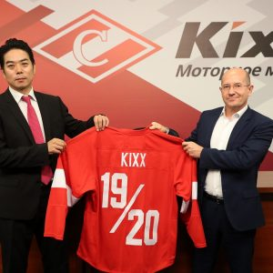 Партнерство между Kixx и ХК «Спартак» продлится в течение сезона 2019-2020
