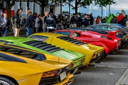 конкурс элегантности Lamborghini & Design