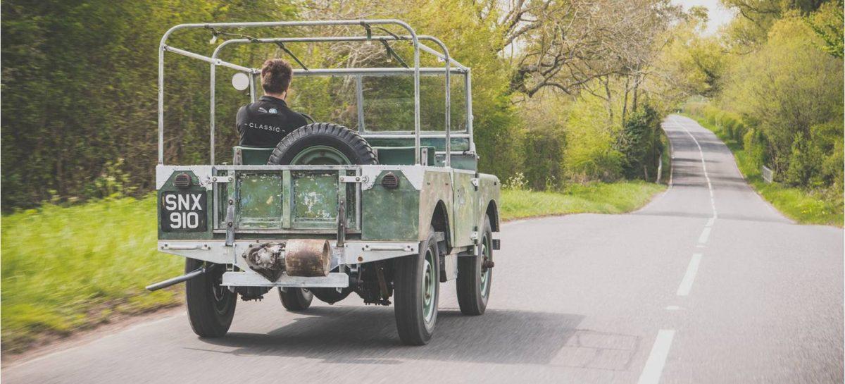 Оригинальный Land Rover вернулся