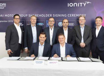 Hyundai Motor Company сообщает об инвестировании в IONITY