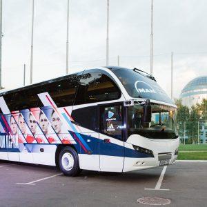 Neoplan Cityliner – теперь автобус сборной России