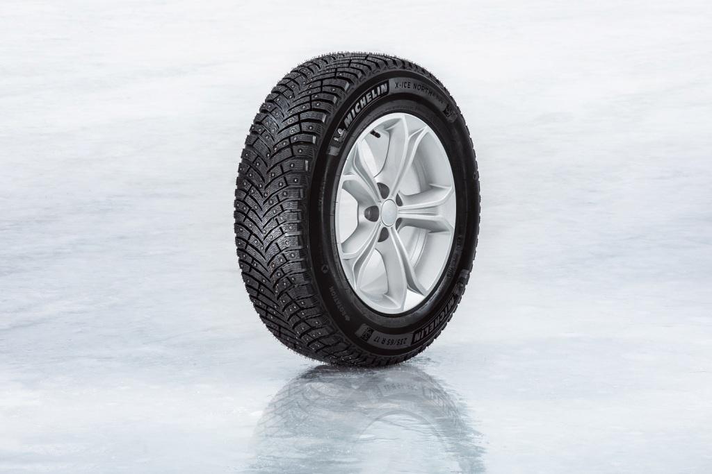 MICHELIN X-Ice North 4 SUV - новая зимняя шипованная шина для вседорожников