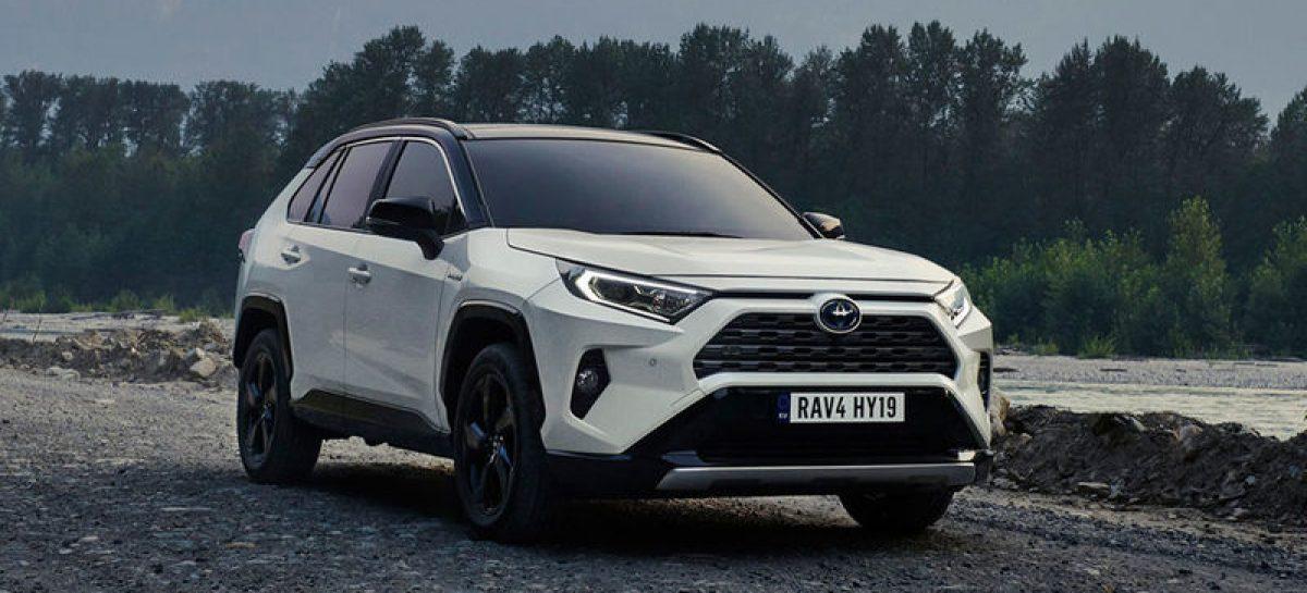 Комплектация нового кроссовера Toyota RAV4 для России
