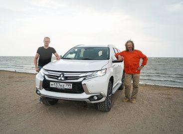 Новый рекорд России на Mitsubishi Pajero Sport c дизельным двигателем