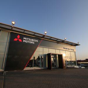 Mitsubishi продолжает открывать дилерские центры в обновленном дизайне