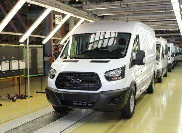 Началось производство обновленного Ford Transit