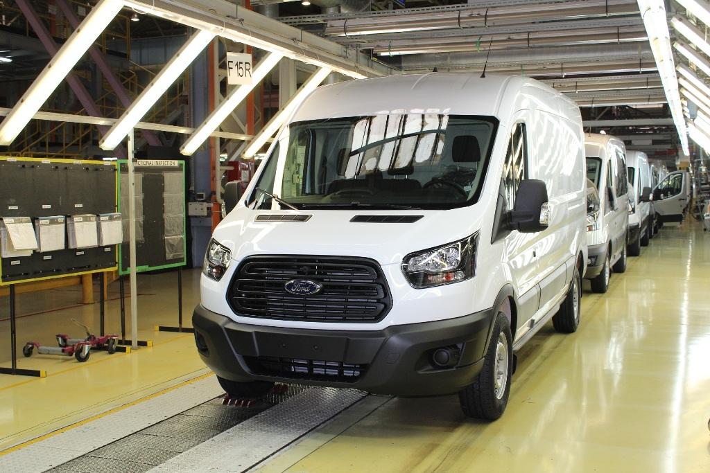производство обновленный Ford Transit 2019