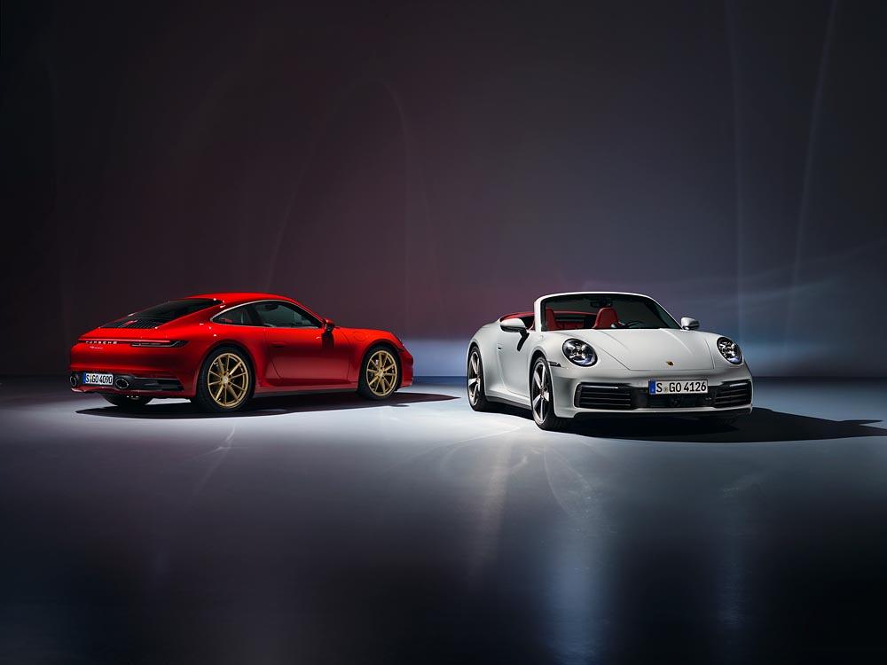911 Carrera Coupé und 911 Carrera Cabriolet