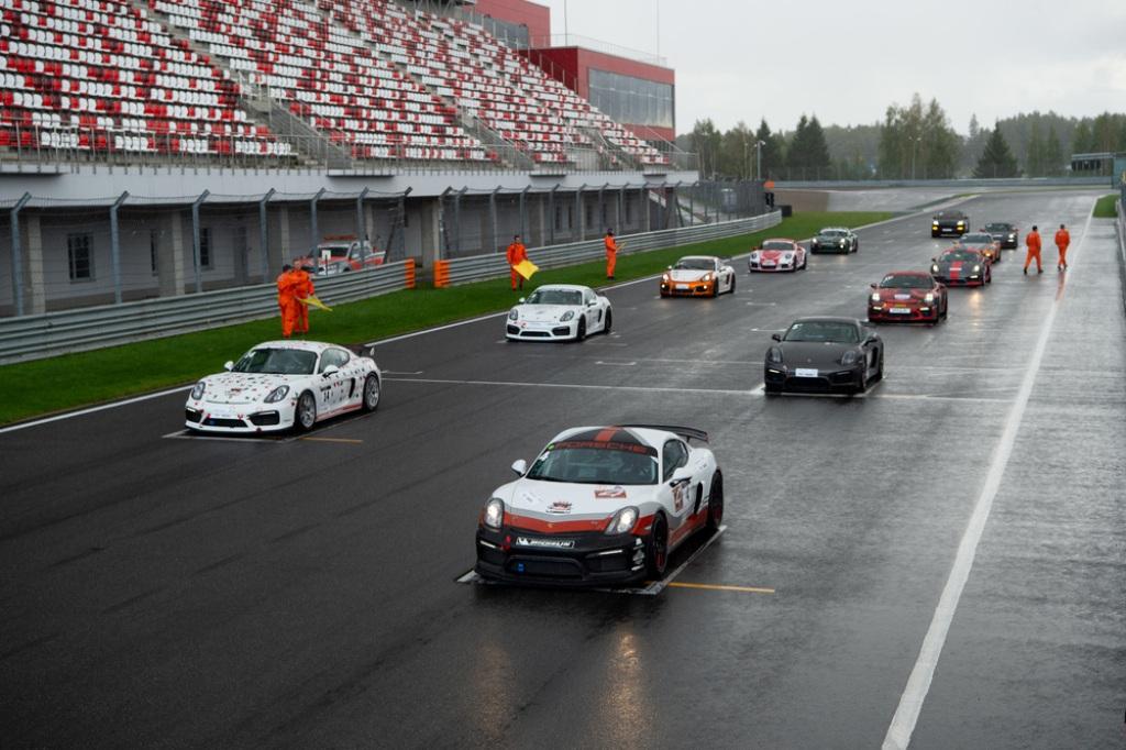 Porsche Cayenne Coupé на фестивале