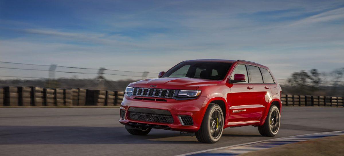 FCA RUS объявляет скидки на весь модельный ряд Jeep