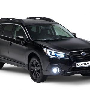 Новая версия кроссовера Subaru Outback - Black Line