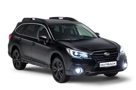 Новая версия кроссовера Subaru Outback – Black Line