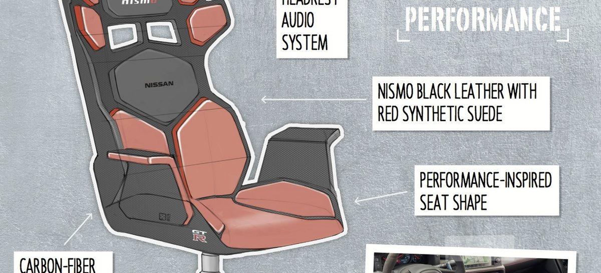 Nissan представил концепции кресел для геймеров