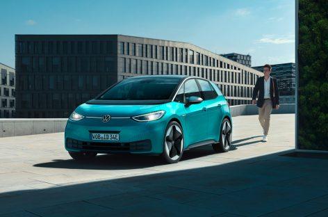 Премьера трех моделей электромобилей от Volkswagen во Франкфурте