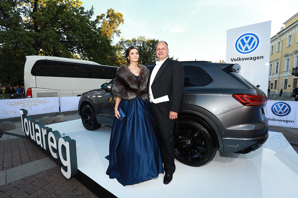 Volkswagen Touareg и Дрездена Дирк Хильберт