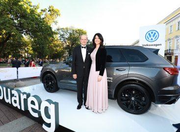 Volkswagen на Дрезденском балу в России