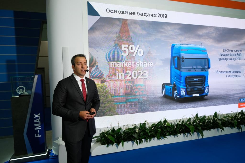 Ford Trucks на COMTANS «Крокус Экспо»