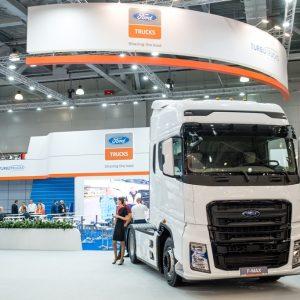 Ford Trucks F-MAX на международной выставке COMTANS