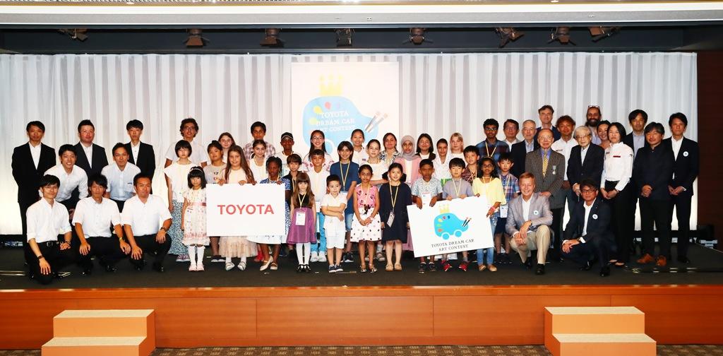 Toyota и детский конкурс «Автомобиль мечты» 2