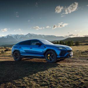 Путешествие по Алтаю за рулем Lamborghini Urus