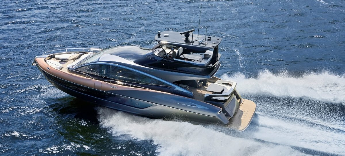 Lexus представляет свою первую серийную премиальную яхту LY 650