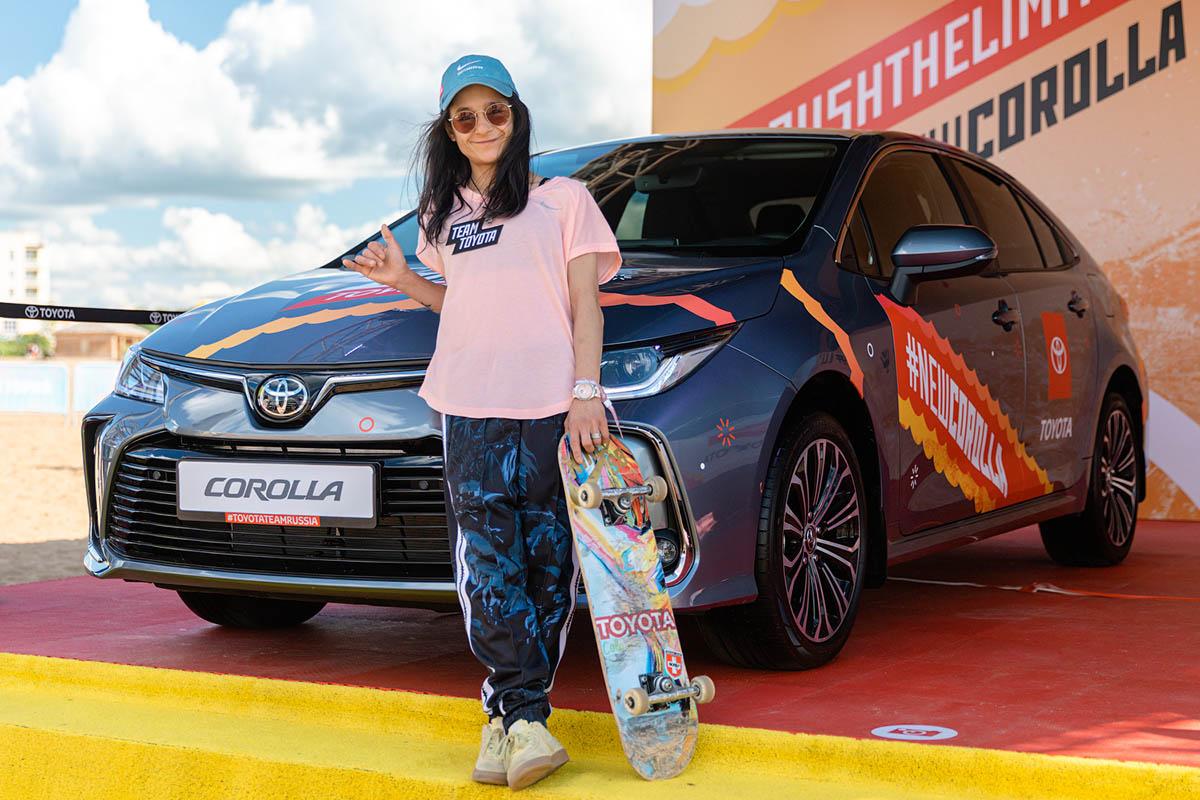 Катя Шенгелия скейтборд