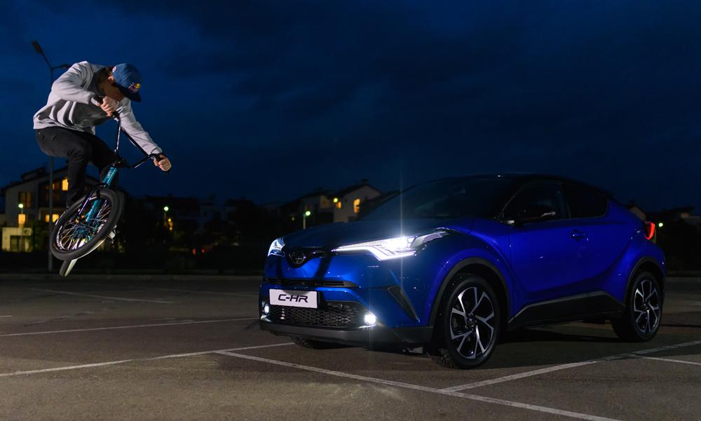 Ирек Ризаев в 2018 году принял участие в съемках рекламного ролика Toyota C-HR