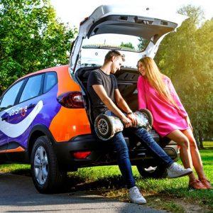 Renault в Липецке от каршеринга CarSmile