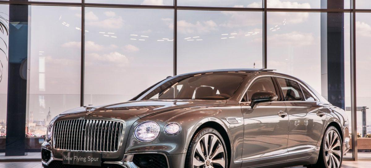 Российская премьера изысканного Bentley Flying Spur