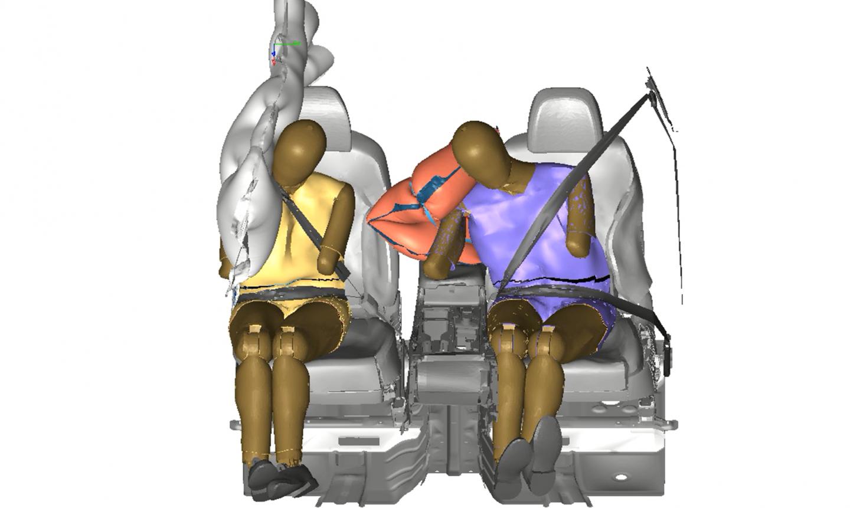 центральная подушка безопасности от Hyundai