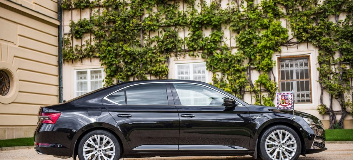Президент Чешской Республики пополнил свой автопарк служебных автомобилей