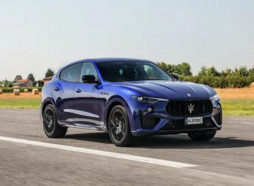 Maserati объявила о начале продаж в России кроссоверов Levante с двигателем от Ferrari