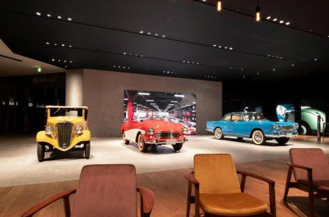 Компания Nissan открыла новую публичную экспозицию и показала исторические автомобили