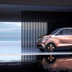 Nissan представляет городской электромобиль IMk