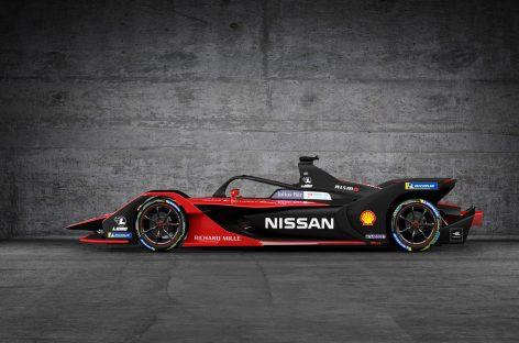 Гоночные автомобили Nissan для нового сезона Формулы E будут выглядеть в японском стиле