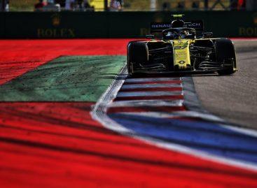 Напряженное Гран-при России для команды Renault F1 Team