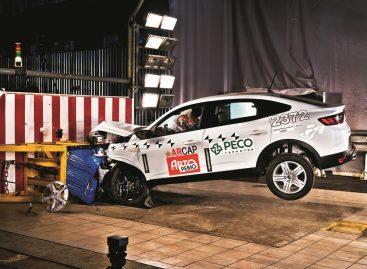 Renault Arkana прошел краш-тест на пассивную безопасность