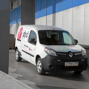 В парк компании DPD поступили электромобили Renault Kangoo Z.E.