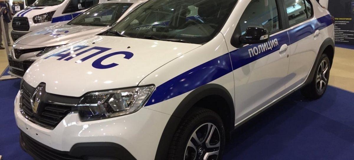 Renault подготовил патрульный автомобиль Госавтоинспекции для выставки Interpolitex