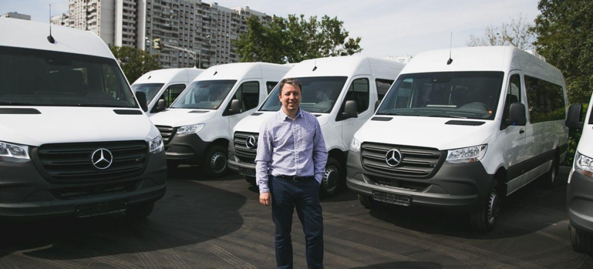 Одна из крупнейших транспортных компаний приобрела новые микроавтобусы Mercedes-Benz
