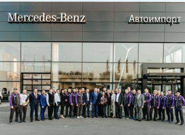 Начала работу новая сервисная станция для автомобилей Mercedes-Benz