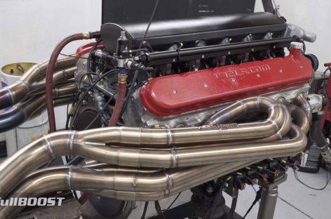 В Австралии создали атмосферный 12-цилиндровый мотор на 9,5 литра мощностью более 1000 л.с