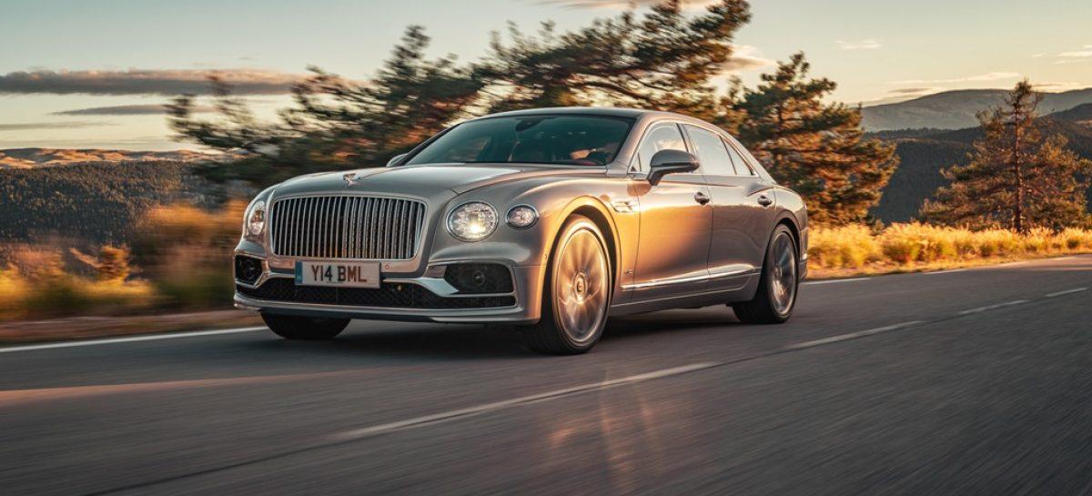 Bentley объявляет о начале производства нового Flying Spur