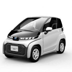 Toyota решила начать производство крошечного электромобиля до его официальной презентации