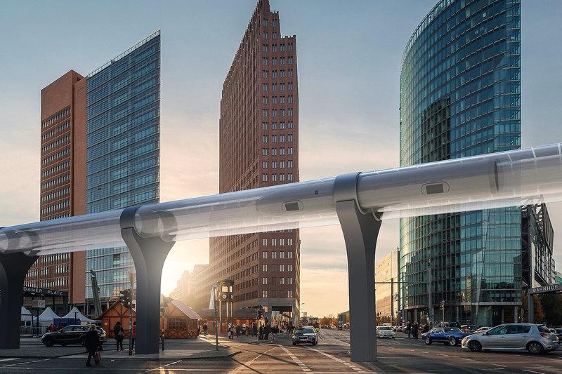 транспортная система будущего — экология, скорость и максимальная безопасность.